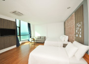 Deluxe Triple Room Sea View - No Balcon