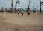 The Three Corners Sunny Beach Resort. Volly Ball in the Beach