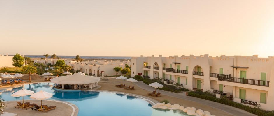 Hilton Marsa Alam Nubian Resort. pools overview
