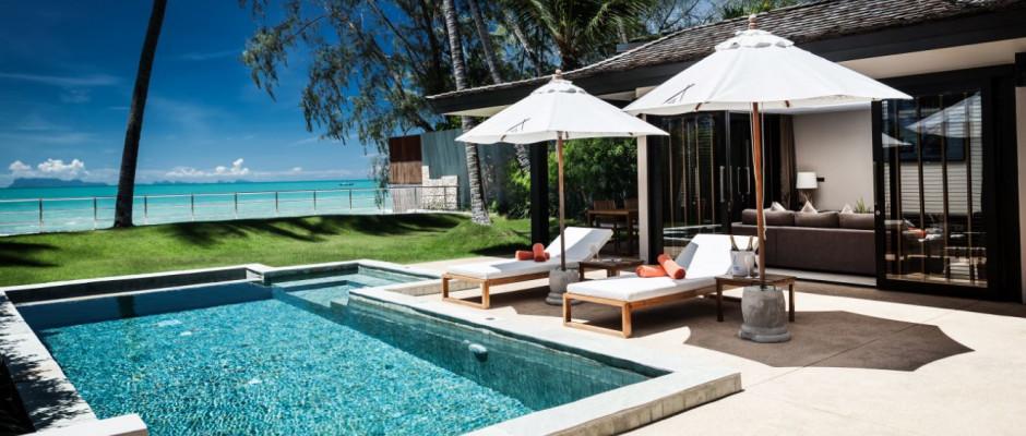 Beachfront 2 Bedroom Private Pool Villa