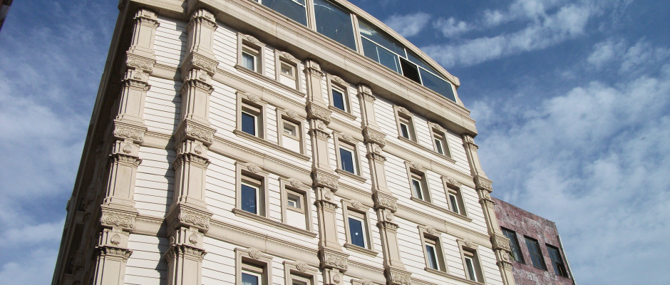 Marmaray Hotel. Exterior