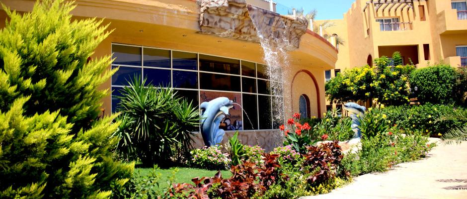 Rehana Royal Beach Resort Aqua Park & Spa. Waterfall