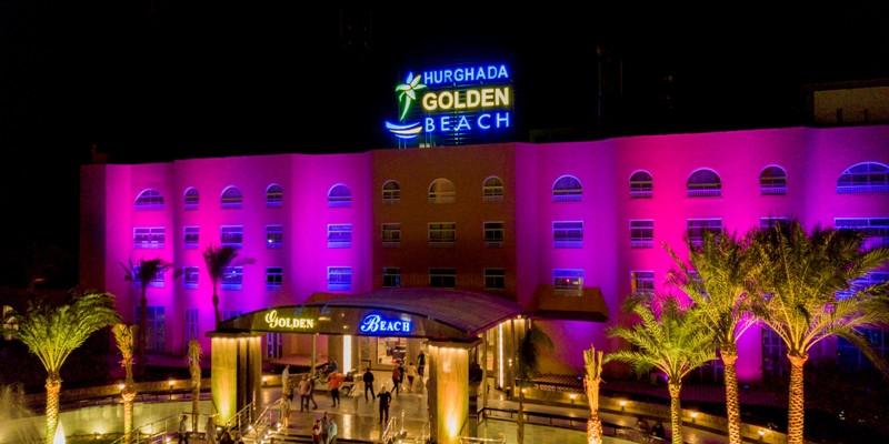 Golden Beach Resort. Main Building (Hotel Entrance)