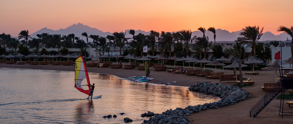 Desert Rose Resort. Wind Surfing