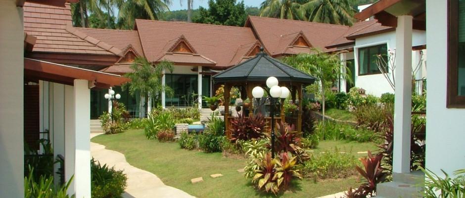 Samui Home and Resort. Territory