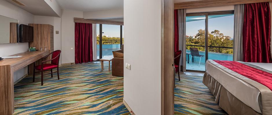 Family Senior Suite Sea View