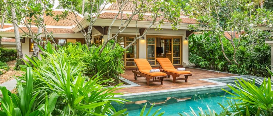 Two Bedroom Grand Deluxe Beachfront Villa w Private Pool