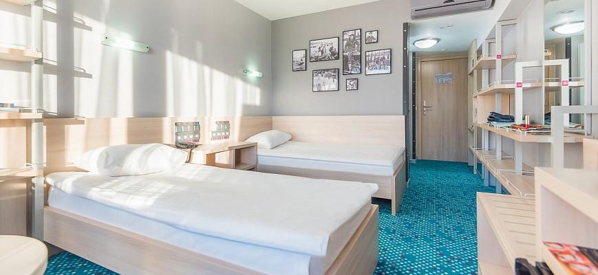 Стандарт с 2 односпальными кроватями