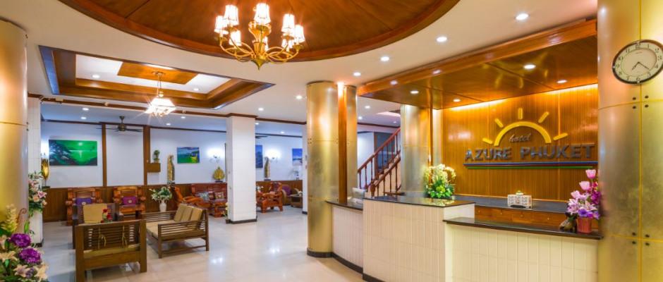 Azure Phuket Hotel. Lobby