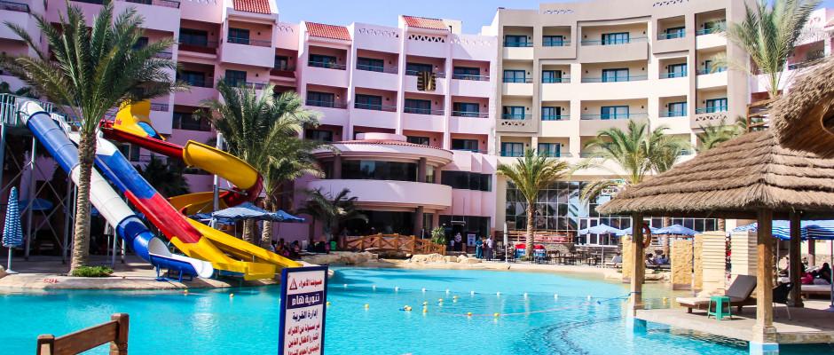 Zahabia Hotel & Beach Resort. New Aqua Park