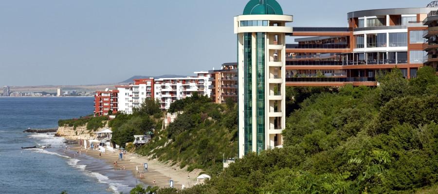 Paradise Beach. Hotel-view